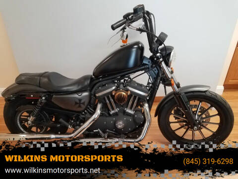 2014 Harley-Davidson Sportster Iron 883 for sale at WILKINS MOTORSPORTS in Brewster NY