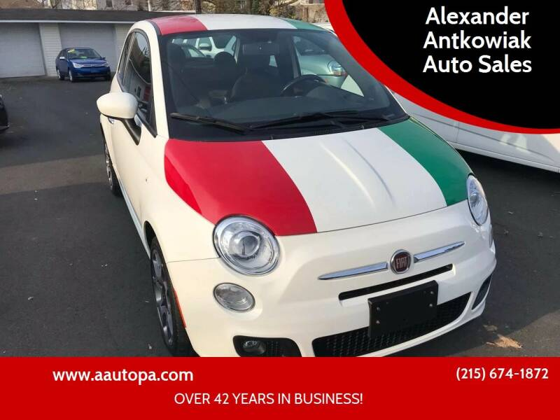 2012 FIAT 500 for sale at Alexander Antkowiak Auto Sales in Hatboro PA