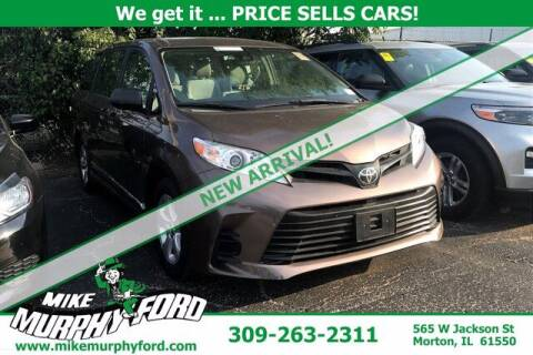 2018 Toyota Sienna for sale at Mike Murphy Ford in Morton IL