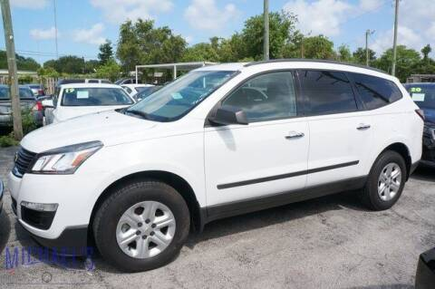 2016 Chevrolet Traverse for sale at Michael's Auto Sales Corp in Hollywood FL