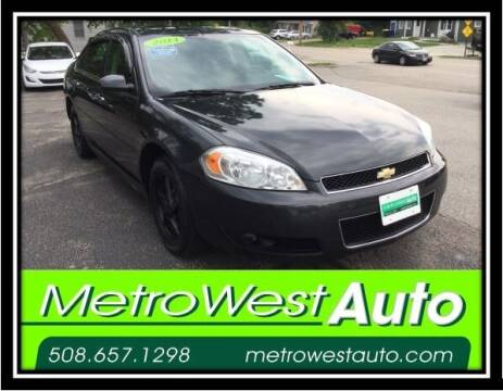 2014 Chevrolet Impala Limited for sale at Metro West Auto in Bellingham MA