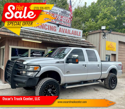 2012 Ford F-250 Super Duty for sale at Oscar's Truck Center, LLC in Houston TX
