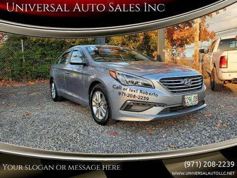 2015 Hyundai Sonata for sale at Universal Auto Sales Inc in Salem OR