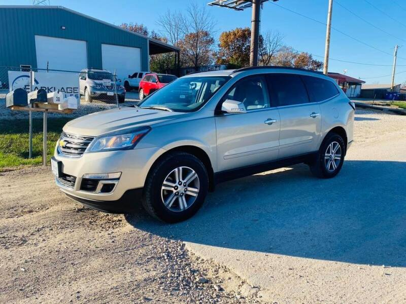 2015 Chevrolet Traverse for sale at BARKLAGE MOTOR SALES in Eldon MO