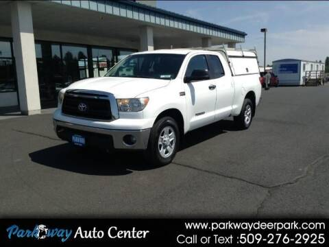 2010 Toyota Tundra for sale at PARKWAY AUTO CENTER AND RV in Deer Park WA