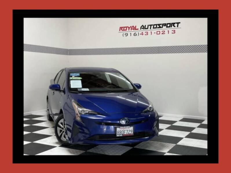 2018 Toyota Prius for sale at Royal AutoSport in Sacramento CA