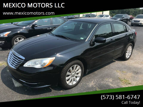 2012 Chrysler 200 for sale at MEXICO MOTORS LLC in Mexico MO