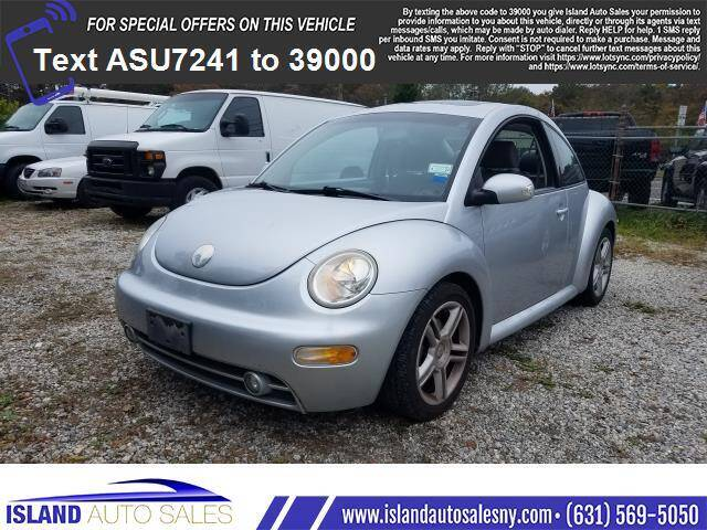 2004 Volkswagen New Beetle for sale at Island Auto Sales in E.Patchogue NY