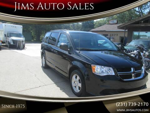 2013 Dodge Grand Caravan for sale at Jims Auto Sales in Muskegon MI