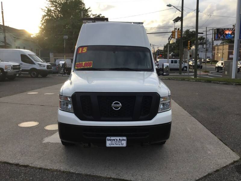 2015 Nissan NV Cargo for sale at Steves Auto Sales in Little Ferry NJ