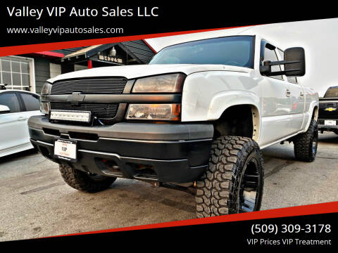 2003 Chevrolet Silverado 1500HD for sale at Valley VIP Auto Sales LLC - Valley VIP Auto Sales - E Sprague in Spokane Valley WA