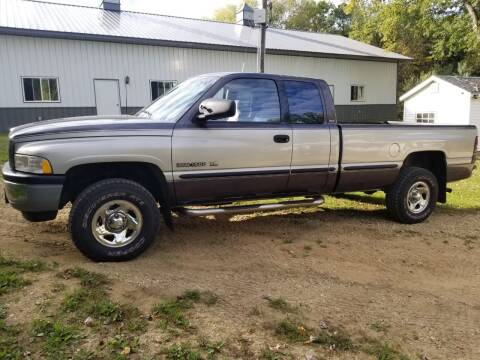 1998 Dodge Ram Pickup 1500 for sale at Clairemont Motors in Eau Claire WI