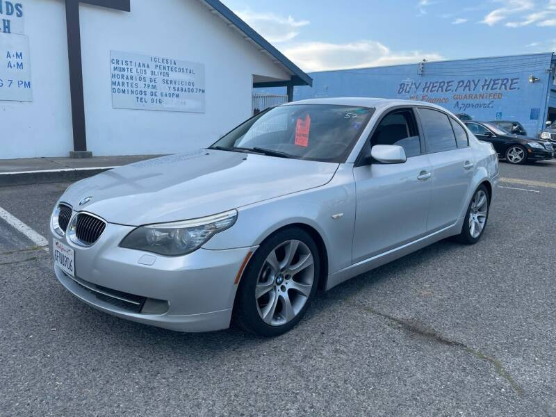 2008 BMW 5 Series for sale at All Cars & Trucks in North Highlands CA