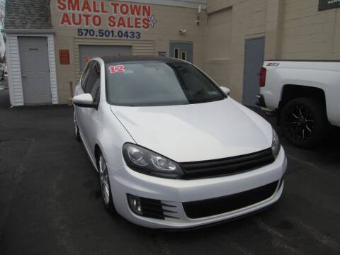 2012 Volkswagen GTI for sale at Small Town Auto Sales in Hazleton PA