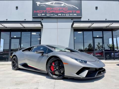 2018 Lamborghini Huracan for sale at Exotic Motorsports of Oklahoma in Edmond OK