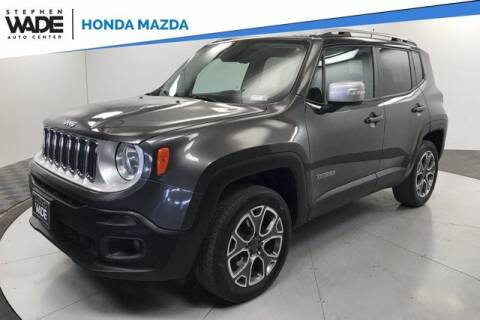 2016 Jeep Renegade for sale at Stephen Wade Pre-Owned Supercenter in Saint George UT