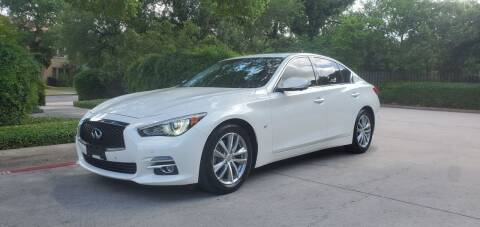 2015 Infiniti Q50 for sale at Motorcars Group Management - Bud Johnson Motor Co in San Antonio TX
