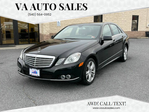 2010 Mercedes-Benz E-Class for sale at Va Auto Sales in Harrisonburg VA