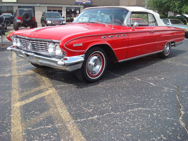 1961 Buick Electra for sale at Naperville Auto Haus Classic Cars in Naperville IL