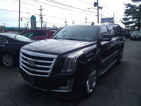 2015 Cadillac Escalade ESV for sale at Wilson Investments LLC in Ewing NJ