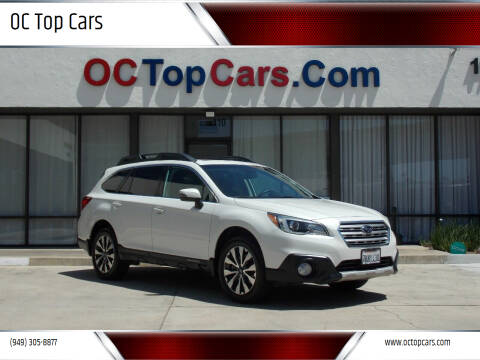 2015 Subaru Outback for sale at OC Top Cars in Irvine CA