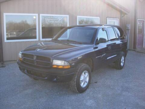 2000 Dodge Durango for sale at Greg Vallett Auto Sales in Steeleville IL