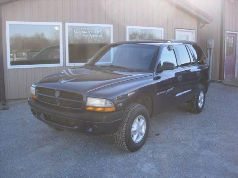 2000 Dodge Durango for sale at Greg Vallett Auto Sales in Steeleville IL