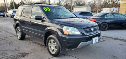 2003 Honda Pilot for sale at I-80 Auto Sales in Hazel Crest IL