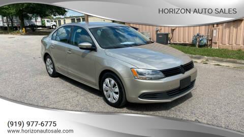 2014 Volkswagen Jetta for sale at Horizon Auto Sales in Raleigh NC