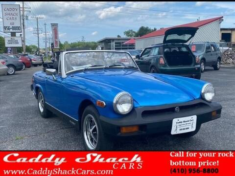 1978 MG Midget for sale at CADDY SHACK CARS in Edgewater MD