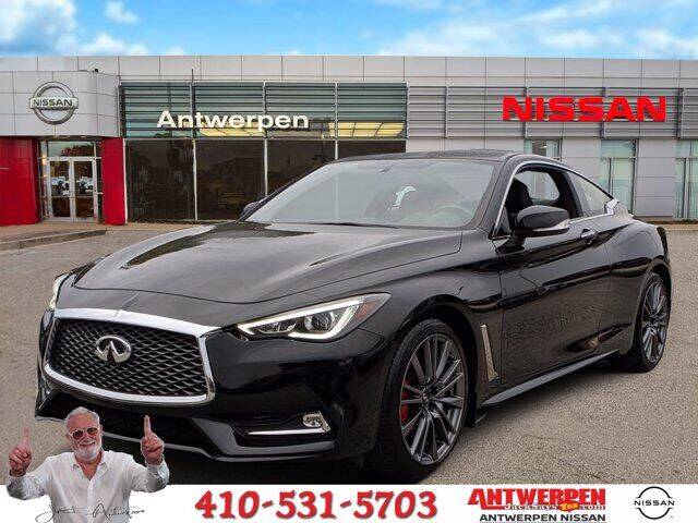 2017 Infiniti Q60 for sale in Clarksville, MD