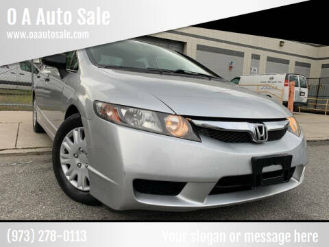 2009 Honda Civic for sale at O A Auto Sale - O & A Auto Sale in Paterson NJ