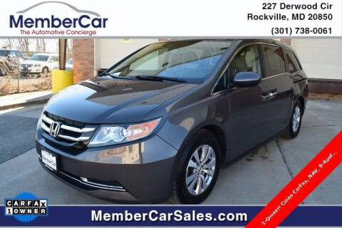 2014 Honda Odyssey for sale at MemberCar in Rockville MD