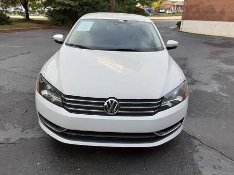 2014 Volkswagen Passat for sale at LOS PAISANOS AUTO & TRUCK SALES LLC in Peachtree Corners GA
