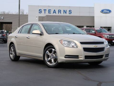 2012 Chevrolet Malibu for sale at Stearns Ford in Burlington NC
