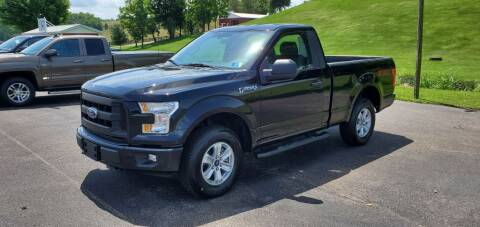 2017 Ford F-150 for sale at Gallia Auto Sales in Bidwell OH