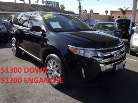 2012 Ford Edge for sale at PACIFICO AUTO SALES in Santa Ana CA