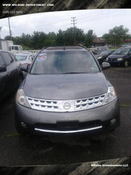 2007 Nissan Murano for sale at Wilson Investments LLC in Ewing NJ