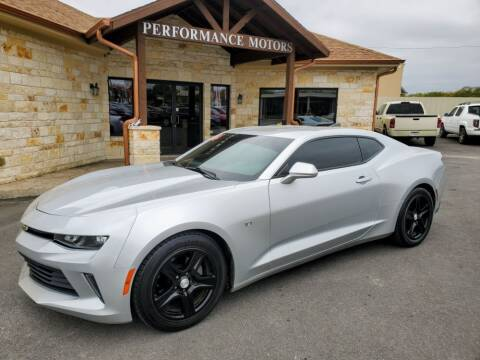 2016 Chevrolet Camaro for sale at Performance Motors Killeen Second Chance in Killeen TX