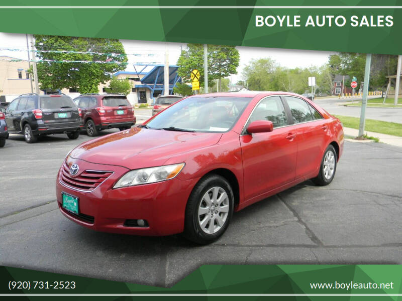 2008 Toyota Camry for sale at Boyle Auto Sales in Appleton WI