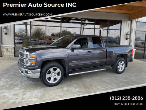 2015 Chevrolet Silverado 1500 for sale at Premier Auto Source INC in Terre Haute IN