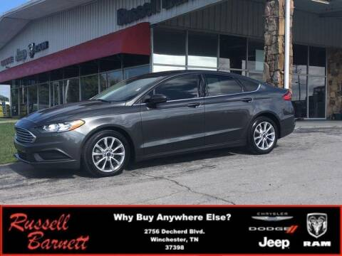 2017 Ford Fusion for sale at Russell Barnett Chrysler Dodge Jeep Ram in Winchester TN