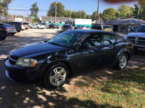 2008 Dodge Avenger for sale at Antique Motors in Plymouth IN