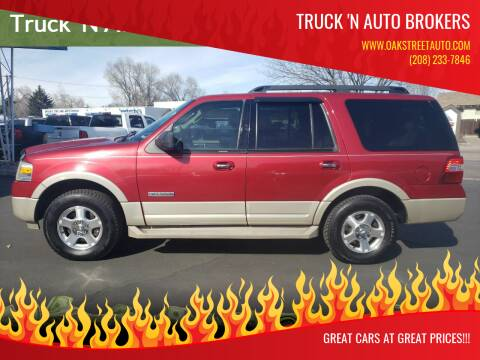 2008 Ford Expedition for sale at Truck 'N Auto Brokers in Pocatello ID