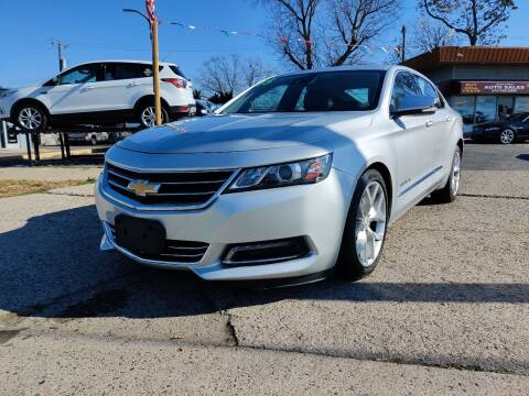 2015 Chevrolet Impala for sale at Lamarina Auto Sales in Dearborn Heights MI