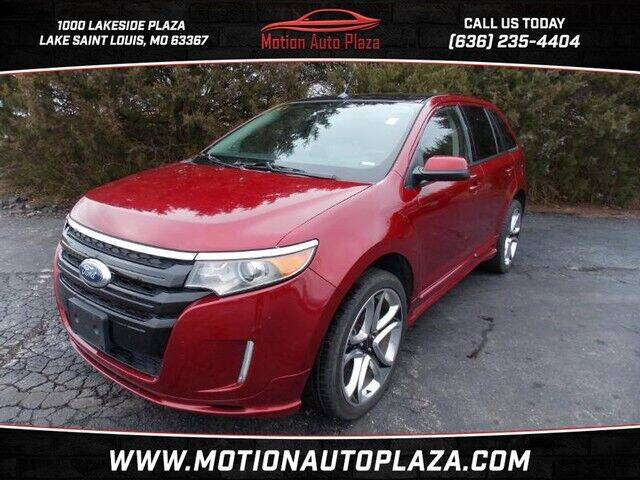 2013 Ford Edge for sale at Motion Auto Plaza in Lakeside MO