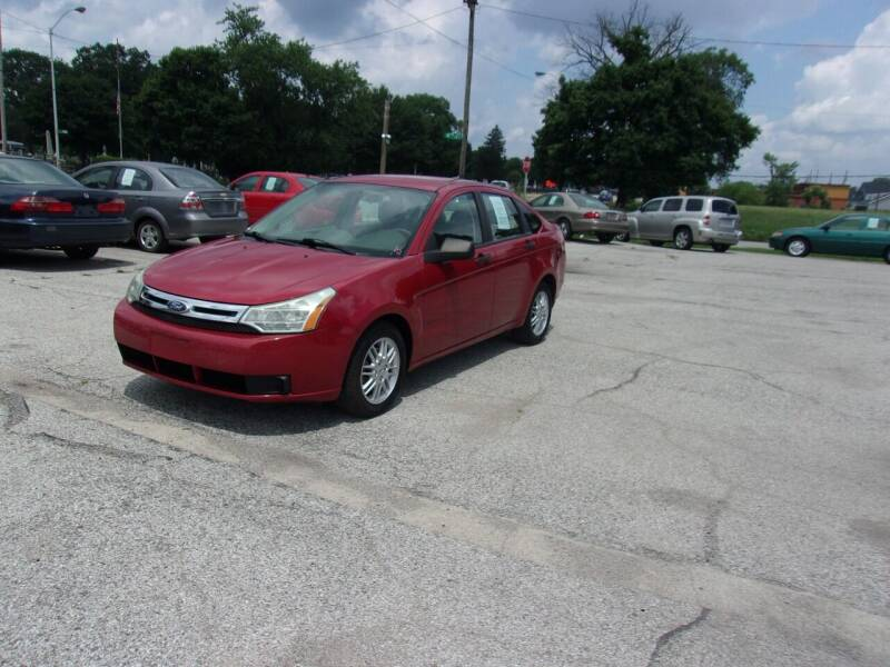 2010 Ford Focus for sale at Car Credit Auto Sales in Terre Haute IN