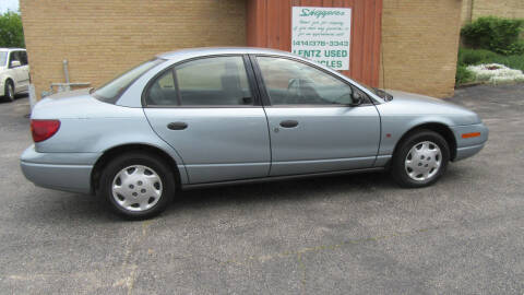 2002 Saturn S-Series for sale at LENTZ USED VEHICLES INC in Waldo WI