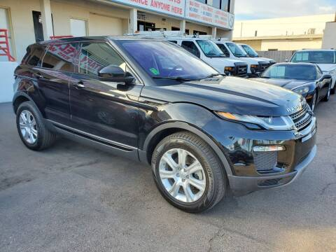 2019 Land Rover Range Rover Evoque for sale at Convoy Motors LLC in National City CA