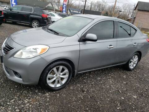 2014 Nissan Versa for sale at Johnsons Car Sales in Richmond IN